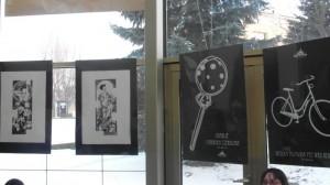 """Wystawa grafik """"Czarno na białym"""""""
