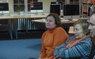 Fotorelacja ze spotkania z Hanną Cygler