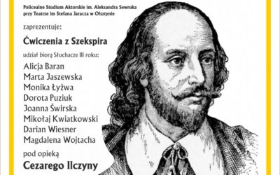 """""""Ćwiczenia z Szekspira""""- zaprasza biblioteczna scena teatralna"""