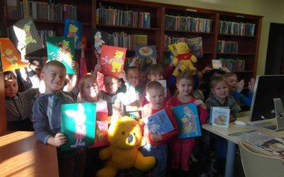 Dzień Kubusia Puchatka w bibliotece