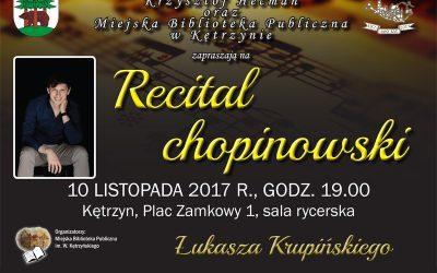 recital chopinowski Łukasza Krupińskiego