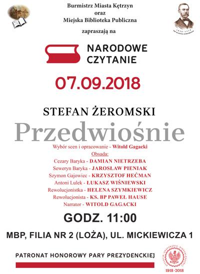 Narodowe Czytanie 2018
