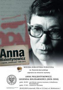 Anna Walentynowicz Legenda solidarności (1929-2010)