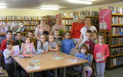 Miłe odwiedziny w Dniu Bibliotekarza