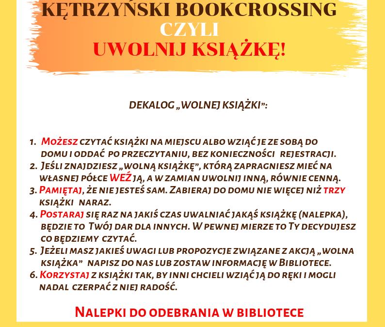 Kętrzyński bookcrossing