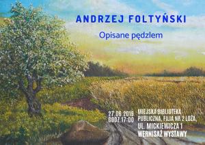 Andrzej Foltyński – Opisane pędzlem