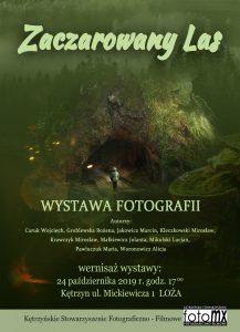 """Wernisaż wystawy """"Zaczarowany las"""""""