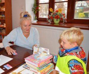 Kolejny tydzień w Bibliotece z dziećmi przedszkolnymi