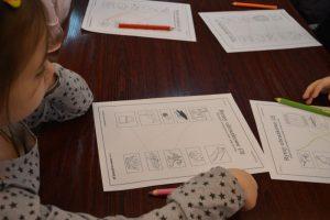 Zajęcia edukacyjne w bibliotece