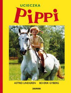 Okładka Książki Ucieczka Pippi