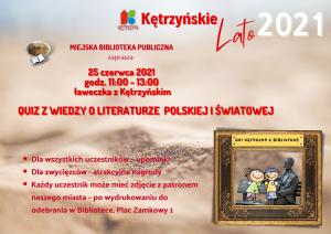 Wylosowano zwycięzców Quizu wiedzy o literaturze polskiej i światowej
